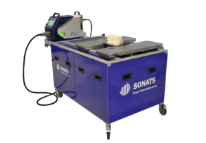 Shot Peening Bench - STRESSVOYAGER - semi-mobile equipment - SONATS