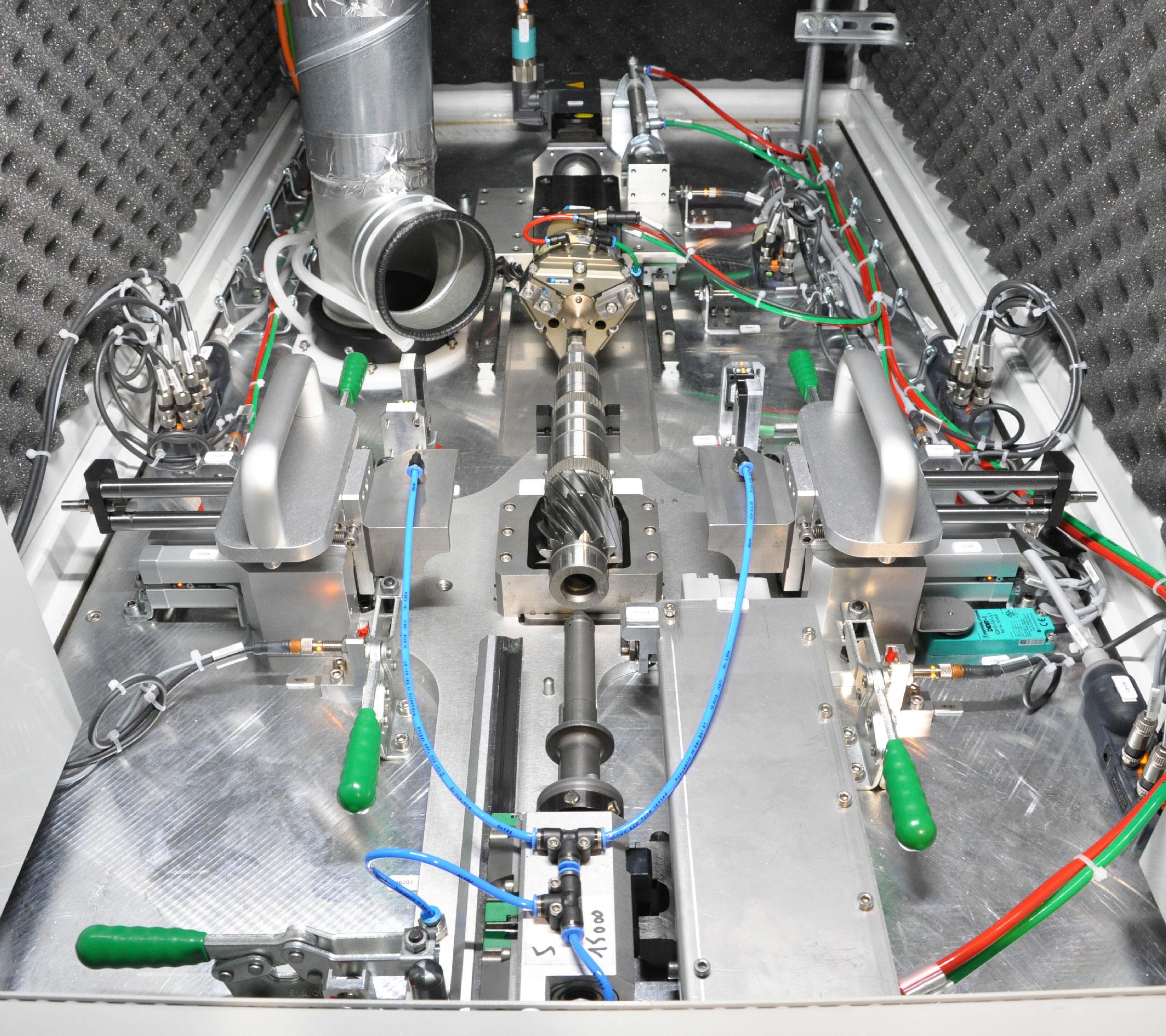 Machine spéciale de grenaillage de précontrainte par ultrasons - SONATS