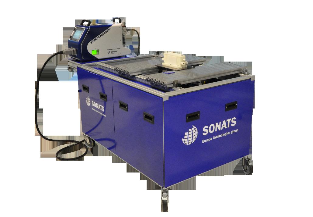 Shot Peening Bench - STRESSVOYAGER - semi-mobile equipment - SONATS