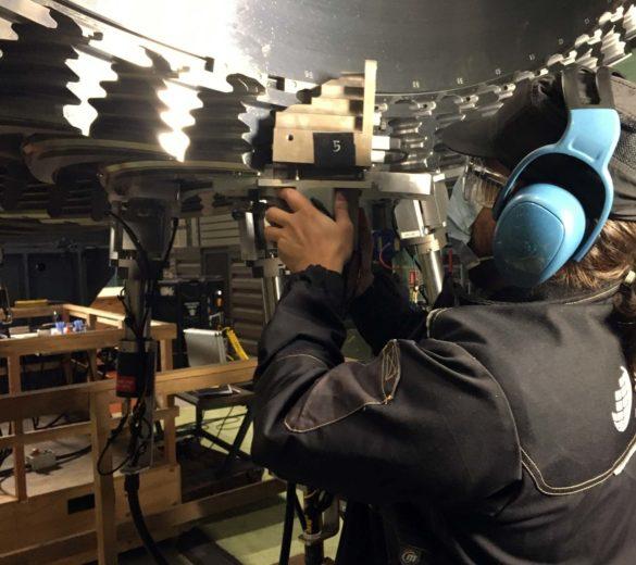 Shot peening services - Steam turbine - SONATS