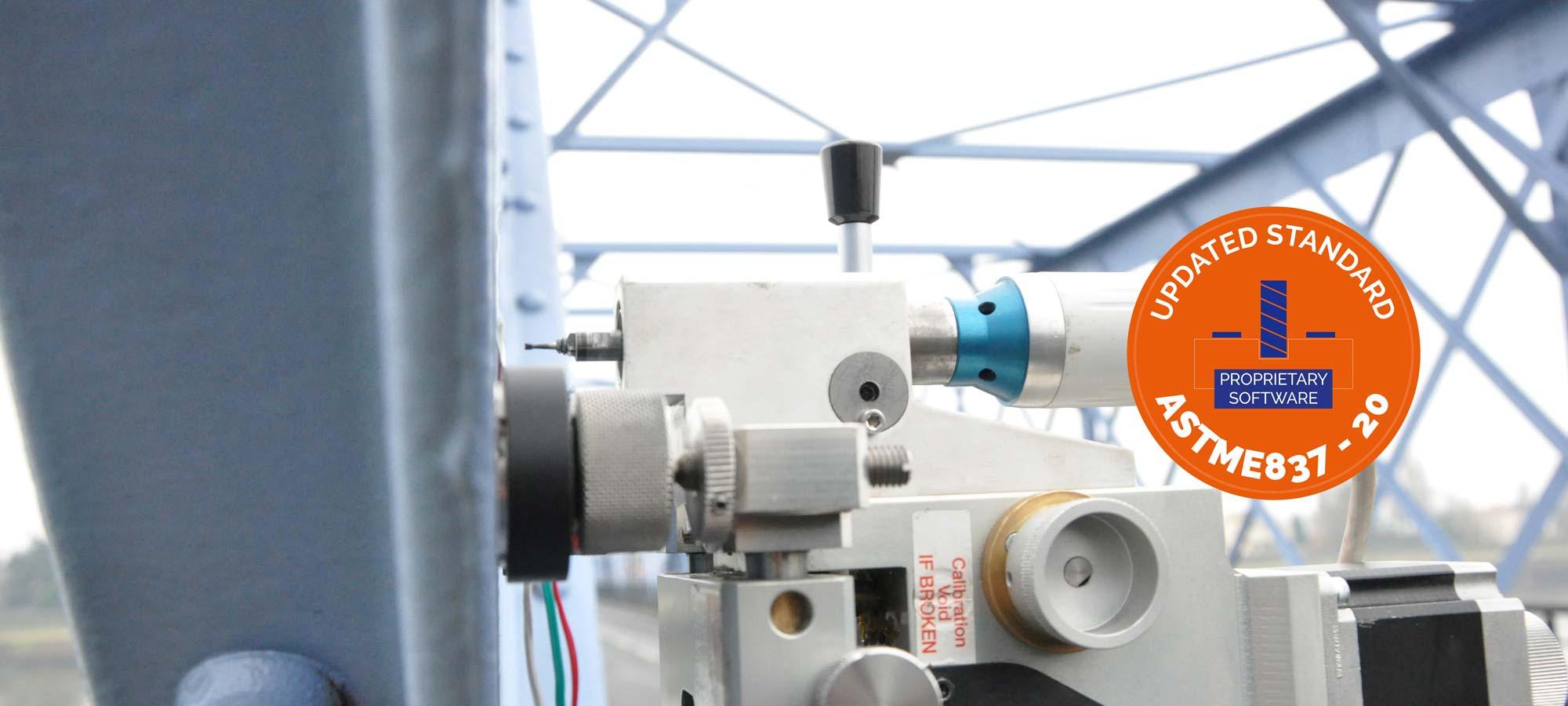 hole drilling method -residual stresses - SONATS